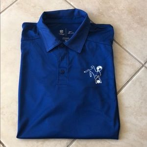 Official NFL Nike Colt's dry fit polo
